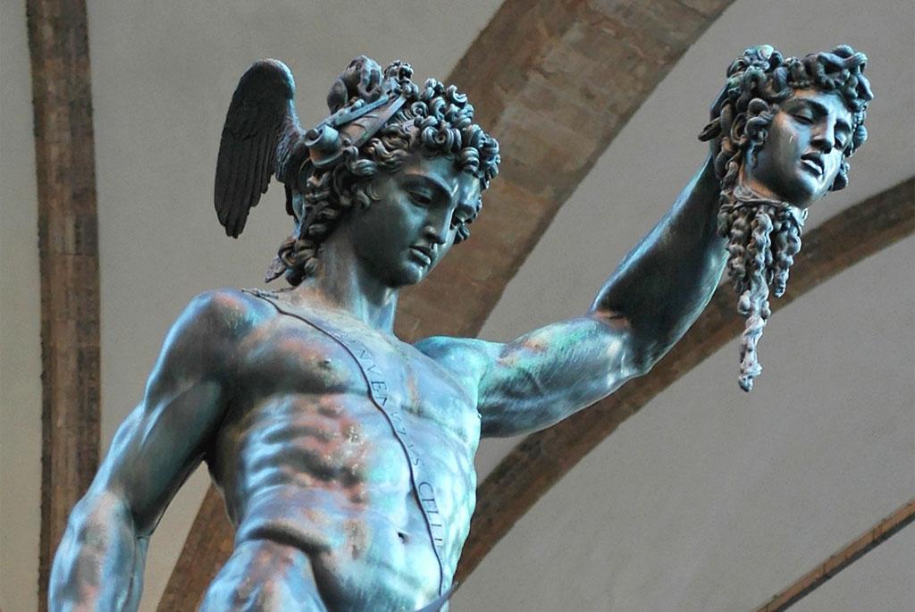 Perseusz, rzezba Benvenuto Cellini