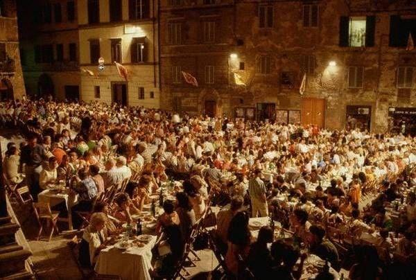 Palio Siena kolacja