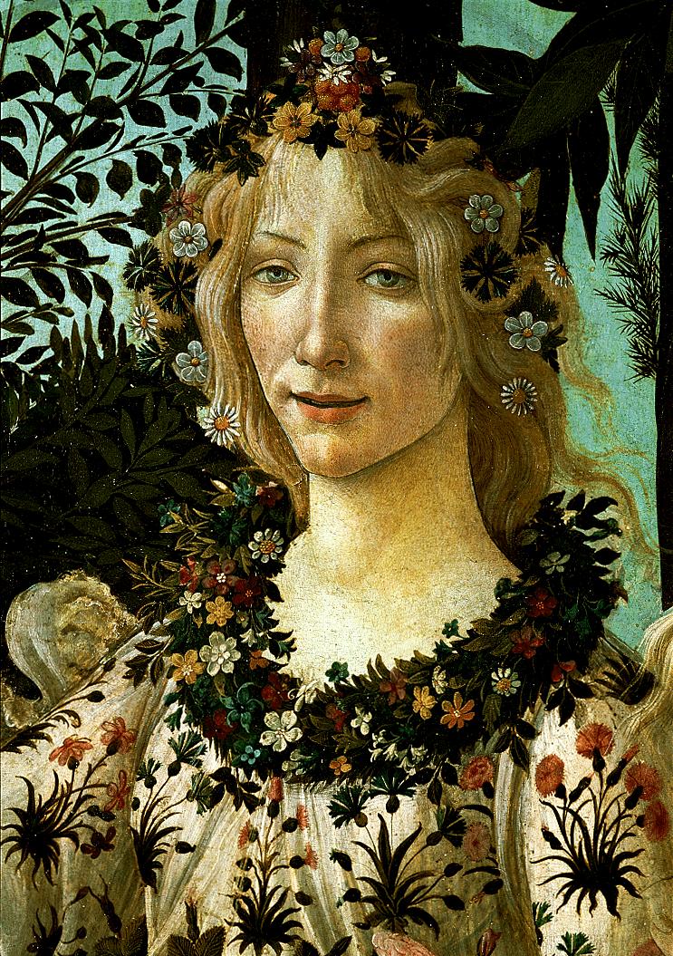 Flora, Primavera, Botticelli