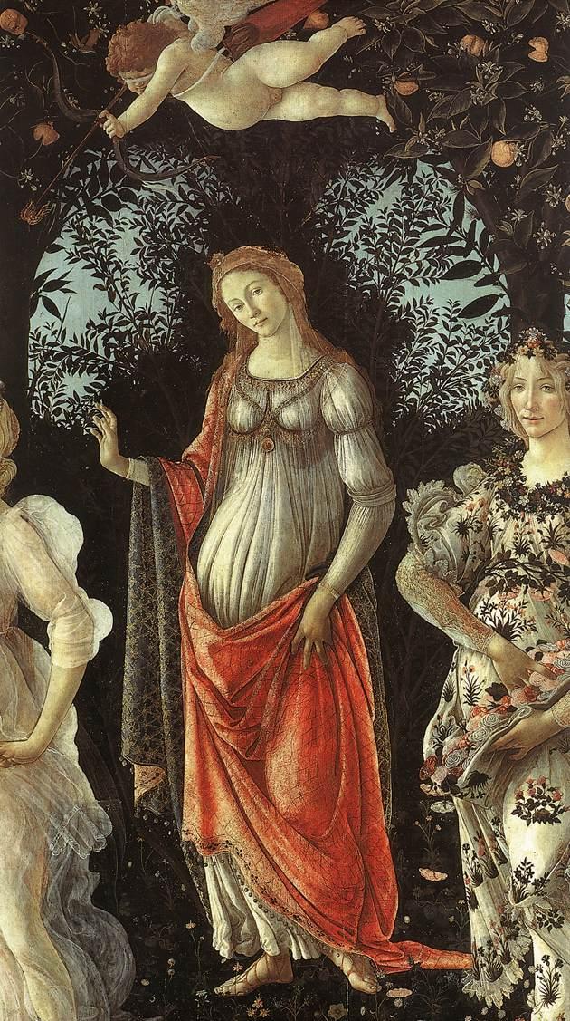 Wenus, Botticelli, Primavera