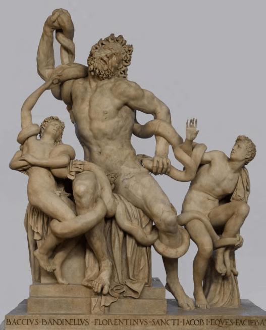 Laokoon- Galeria Uffizi we Florencji