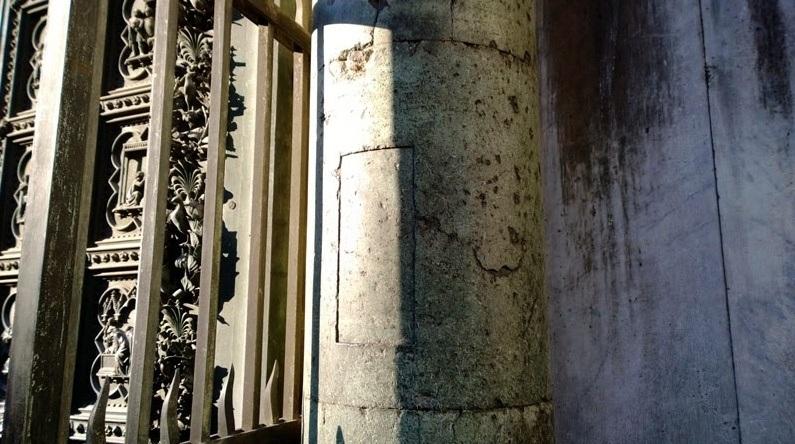 Stopa Liutpranda - Baptysterium Florencja