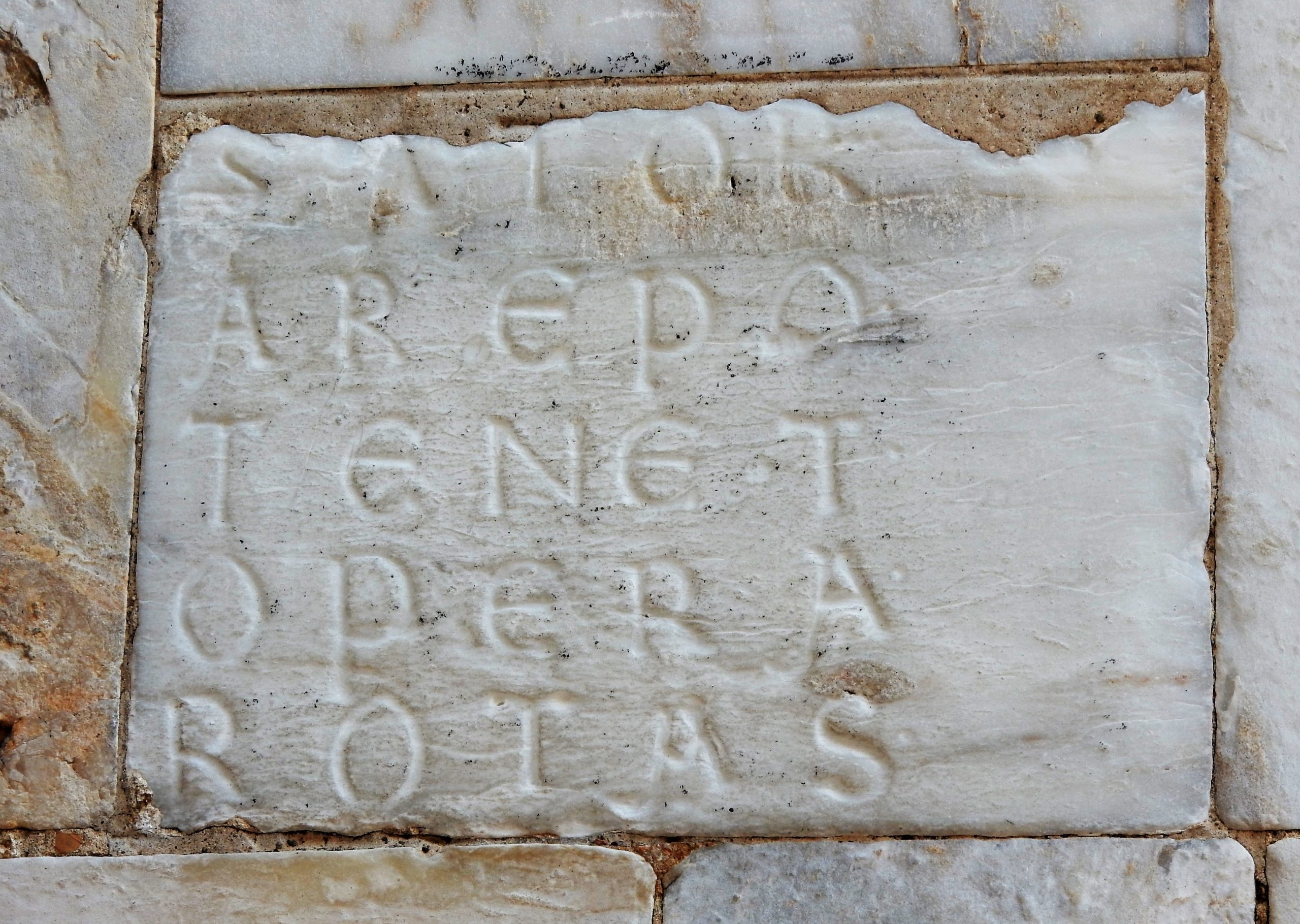 SATOR Kwadrat, Duomo, Siena