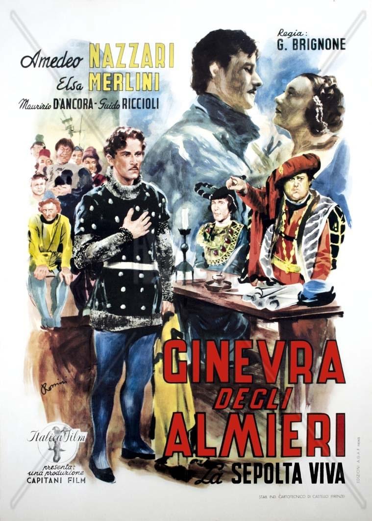 Ginevra degli Amieri, plakat filmu 1936 rok