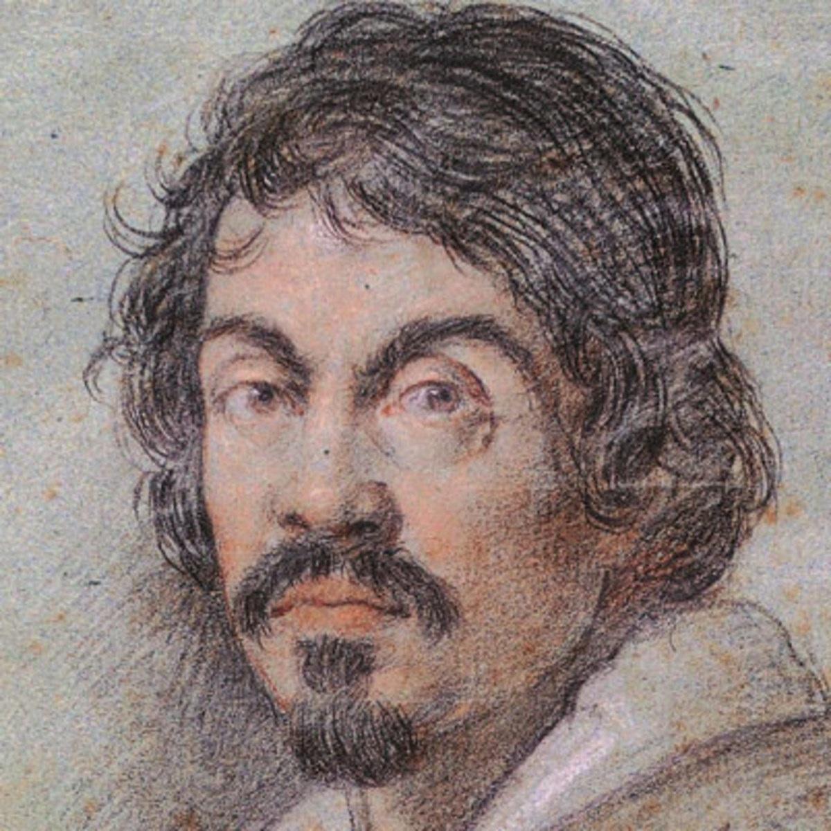 Caravaggio, portret, Bachus