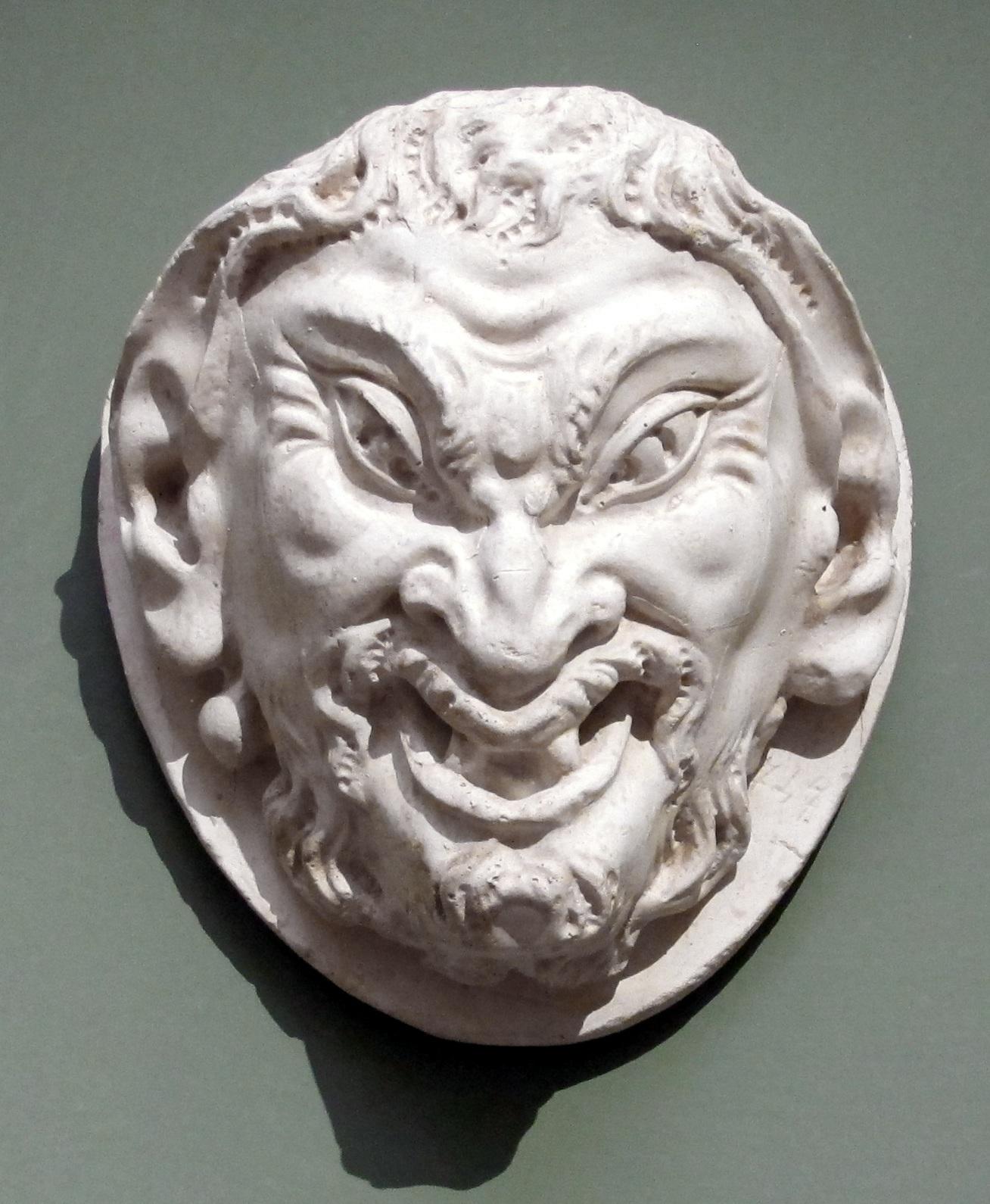 Maska fauna Michal Aniol, Uffizi