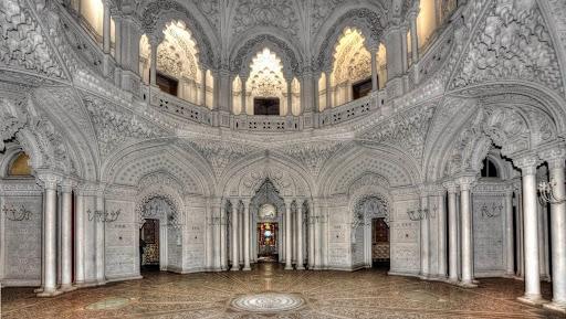 Sala balowa, Zamek Sammezzano w Toskanii