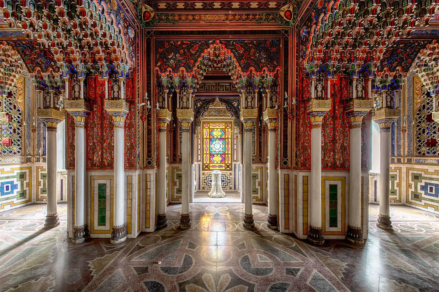 Zamek Sammezzano Toskania