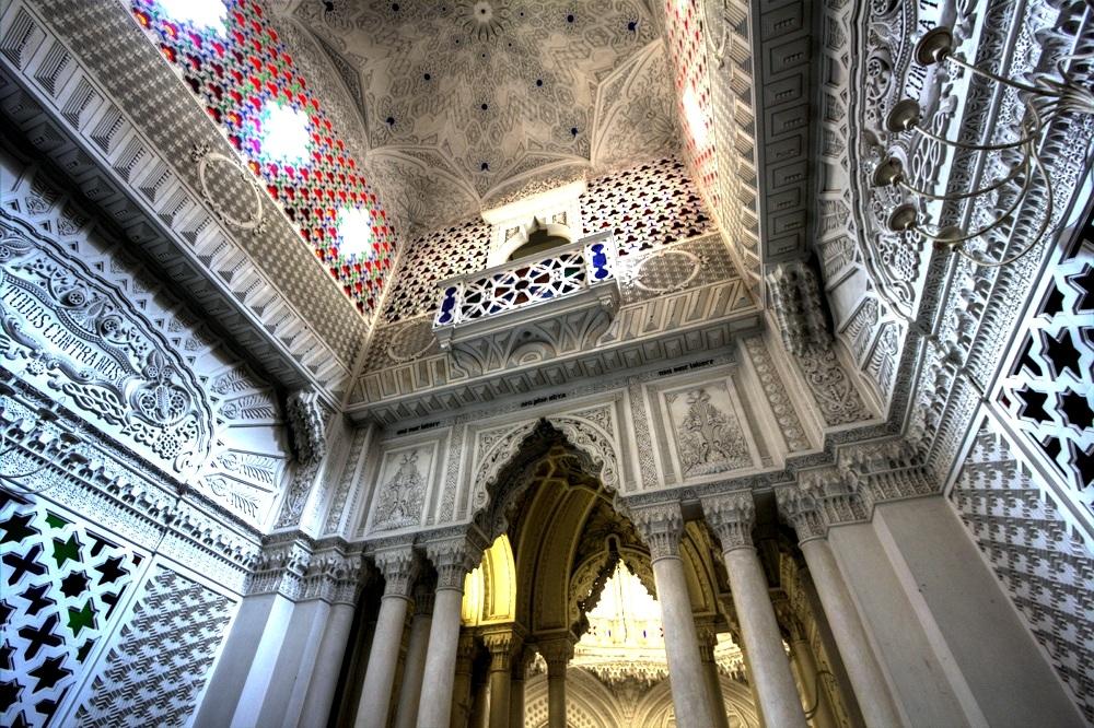 Sala gwiazd, Zamek Sammezzano w Toskanii