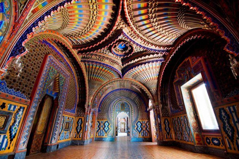 Zamek Sammezzano w Toskanii, Sala Pawi