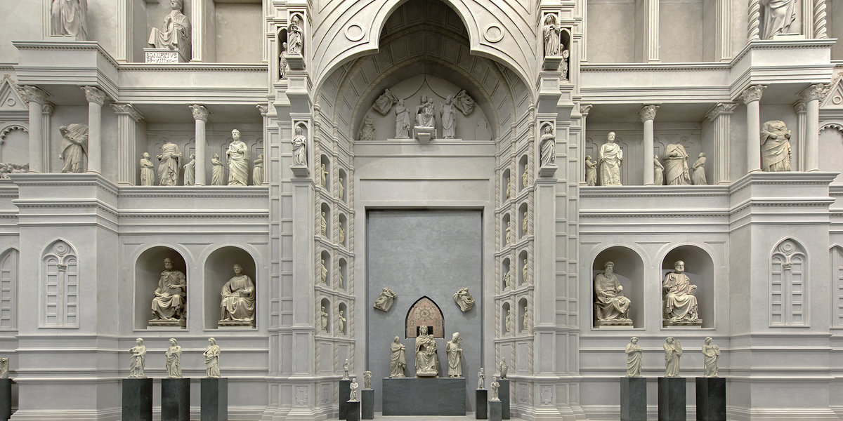 Fasada, Muzeum dell'Opera del Duomo