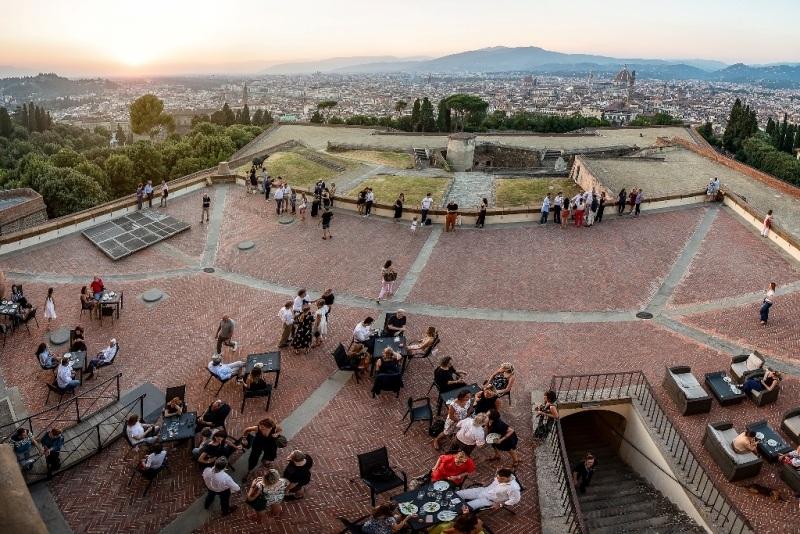 Forte Belvedere Florencja z dziecmi