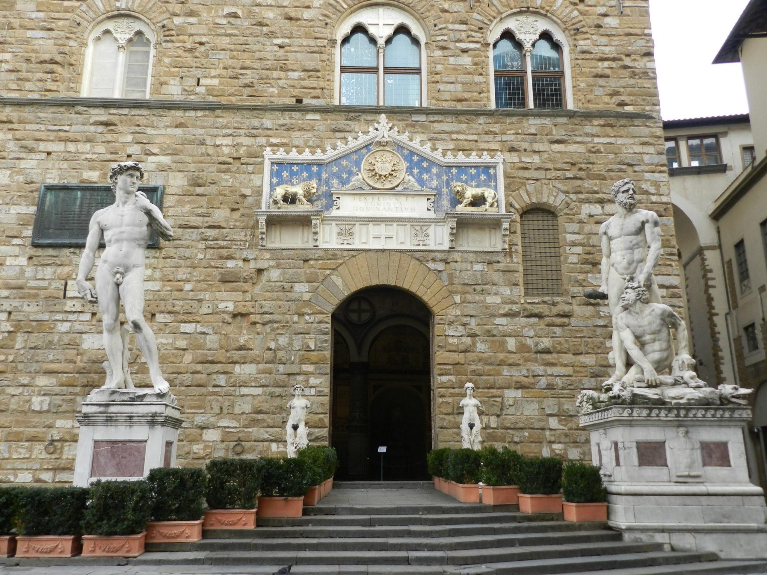 Palazzo Vecchio Florencja wejscie