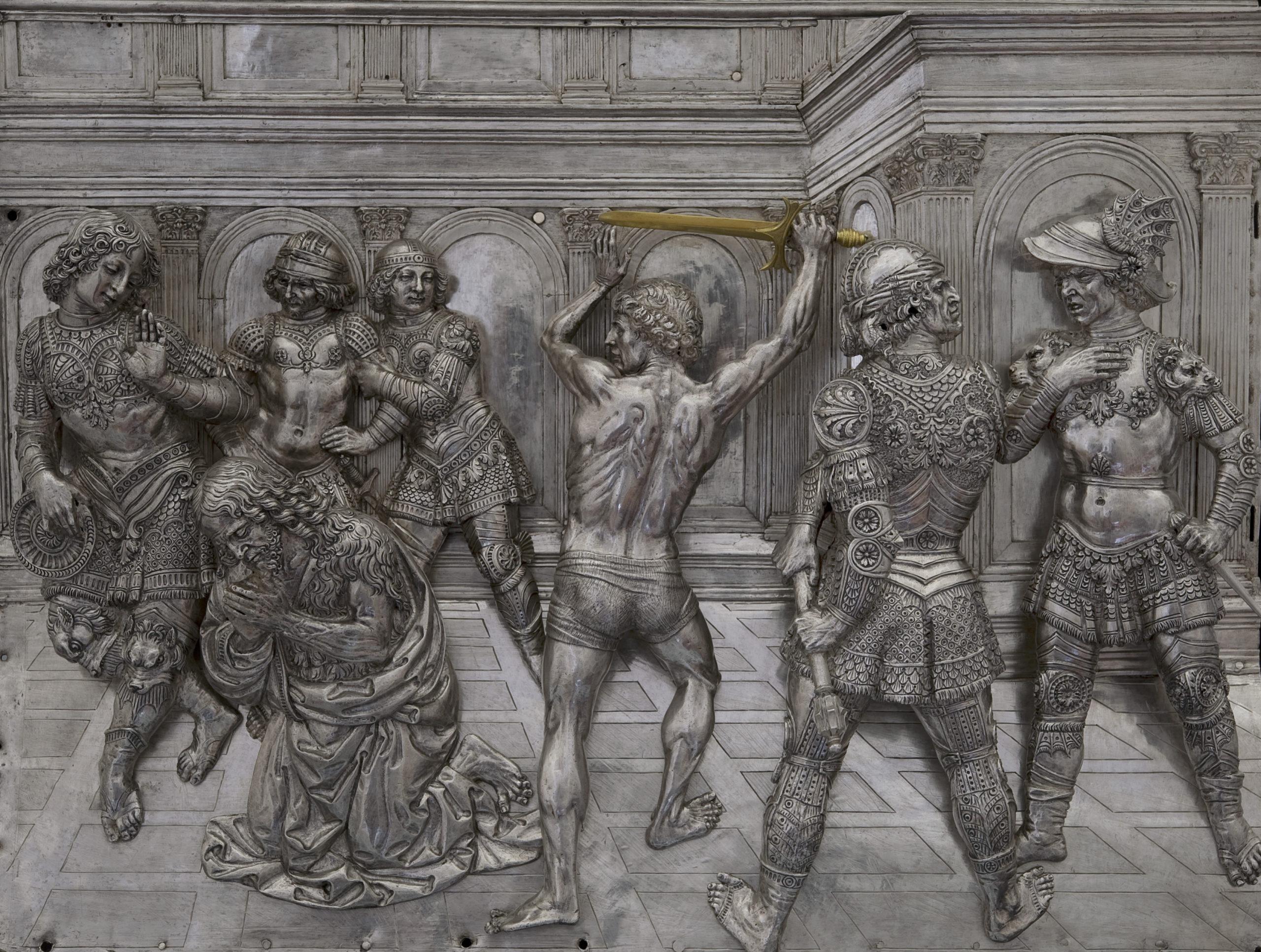 oltarz baptysterium, muzeum