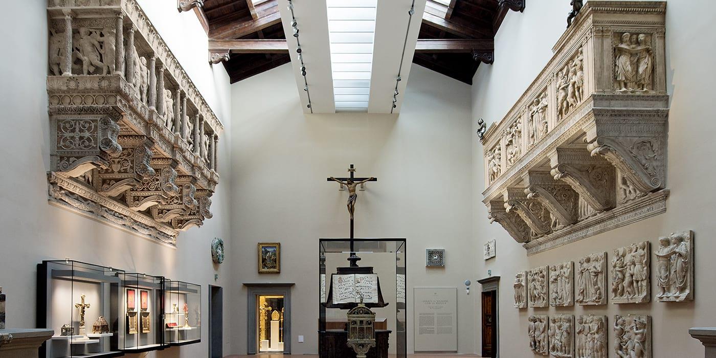 sala cantorie muzeum dell'opera del duomo