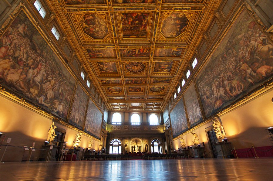 Salon pieciuset, Palazzo Vecchio