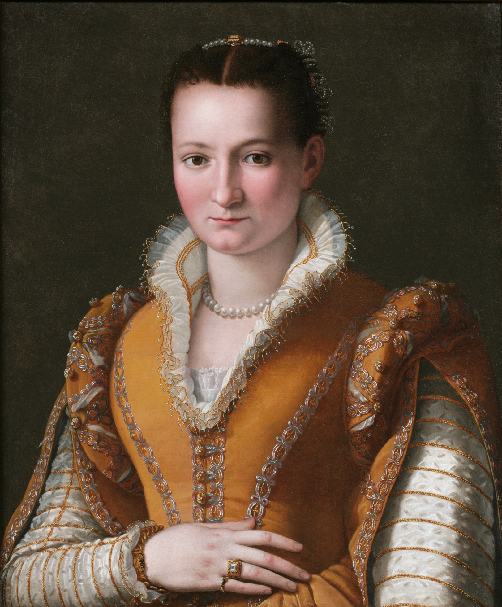 Bianca Cappello portret Alessandro Allori
