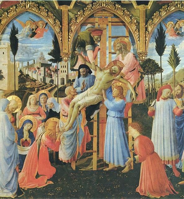 Beato Angelico, Zlozenie do grobu