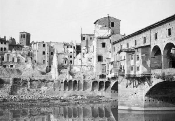 Ponte Vecchio, Oltrarno druga wojna swiatowa
