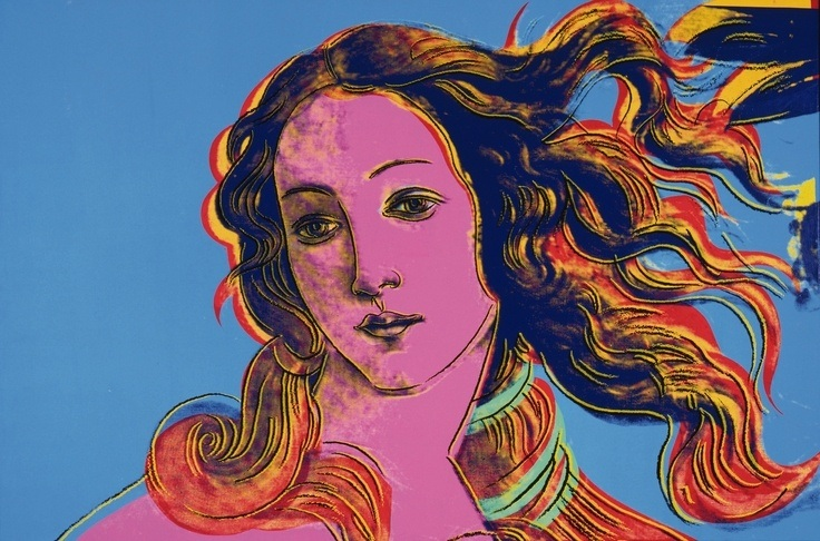 Sandro Botticelli, Wenus art pop