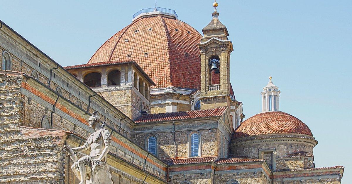 Nowa Zakrystia, Kaplica Medyceuszy Florencja