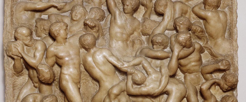 Michał Anioł, Bitwa centaurow, Florencja