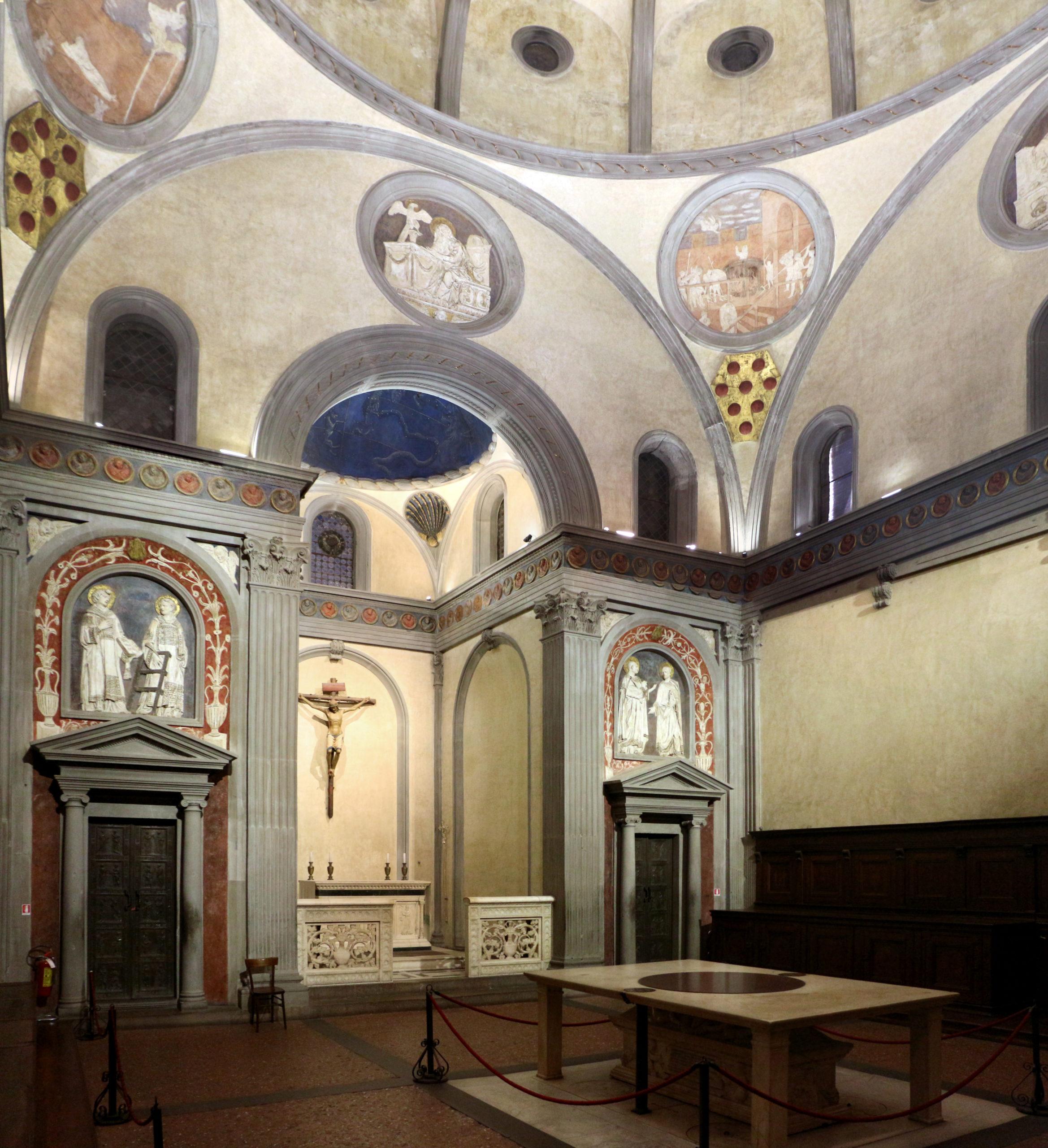 Stara Zakrystia Brunelleschi, Florencja