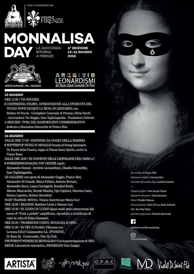 Mona Lisa day - plakat